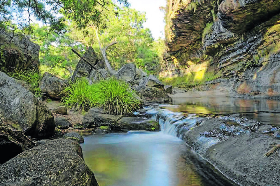 The Drip - Mudgee's great outdoors